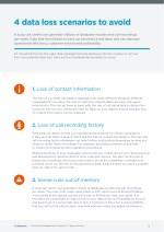 4 data loss scenarios to avoid