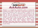 ackauto com