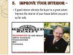 5 improve your interior