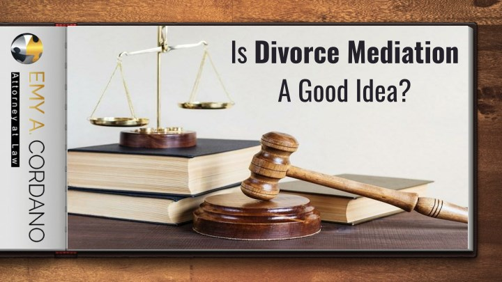 is divorce mediation a good idea n.