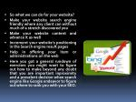 so what we can do for your website make your