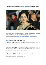 top 10 films which made sridevi the bollywood