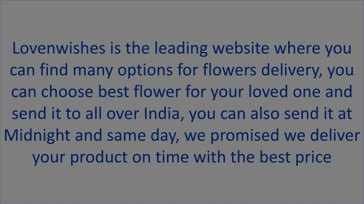 lovenwishes is the leading website where n.