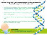 medical billing and practice management llc presents medical practice management service new york