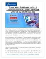 grow your business in 2018 through powerful email