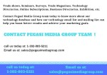 trade shows seminars surveys trade magazines