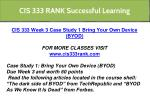 cis 333 rank successful learning 6