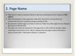 2 page name