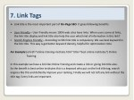 7 link tags