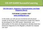 cis 339 guide successful learning 4