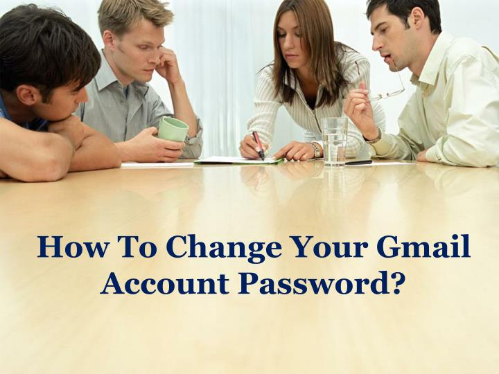 how to change your gmail account password n.