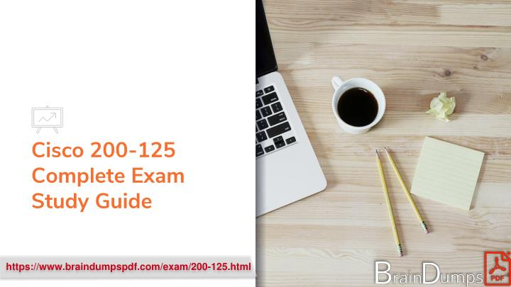 cisco 200 125 complete exam study guide n.
