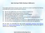 spot cleaning of walls cleaning in melbourne 1