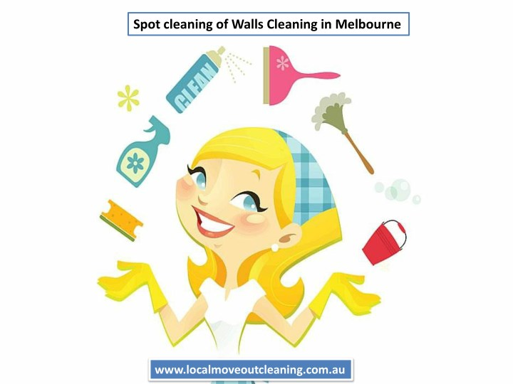 spot cleaning of walls cleaning in melbourne n.