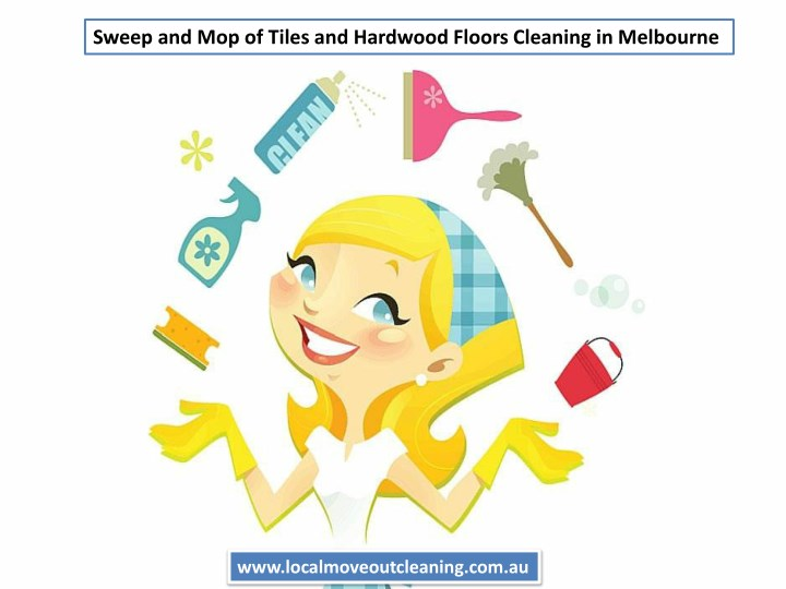 sweep and mop of tiles and hardwood floors n.