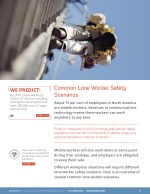 common lone worker safety scenarios