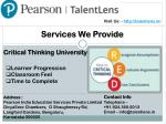 visit us http talentlens in 4
