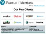 visit us http talentlens in 5