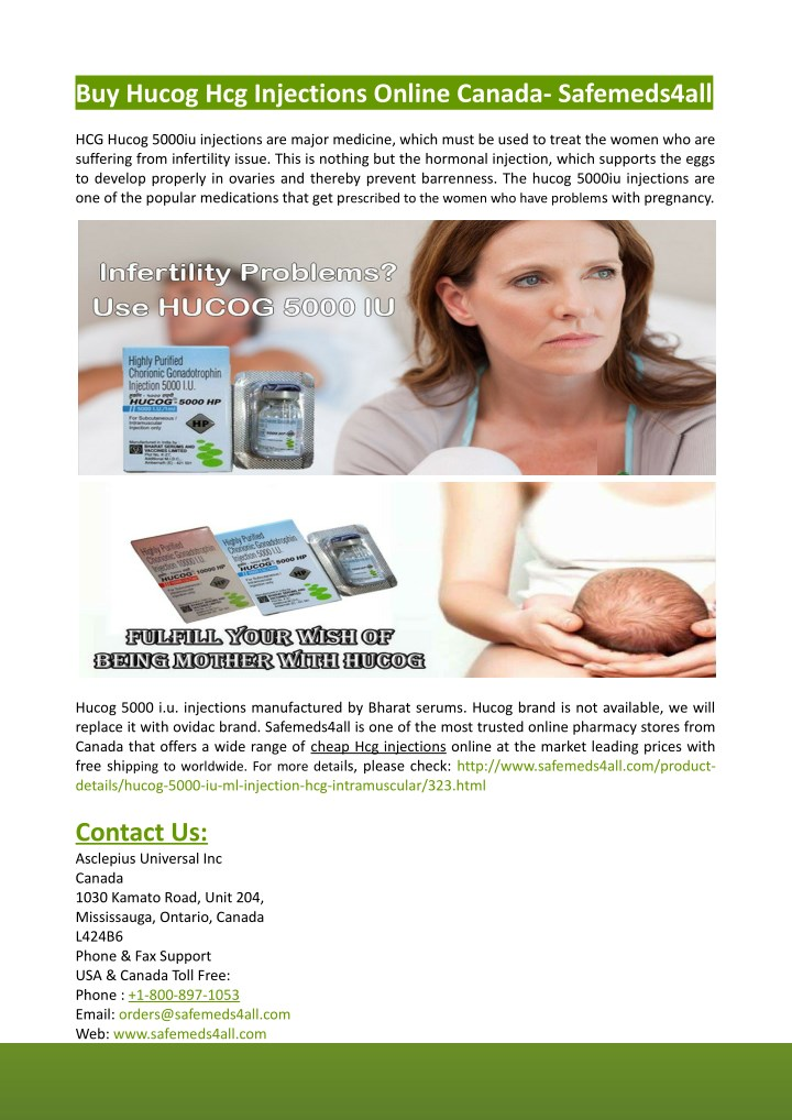 buy hucog hcg injections online canada n.