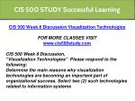 cis 500 study successful learning 13
