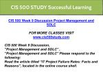 cis 500 study successful learning 14