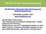 cis 500 study successful learning 5