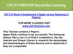 cis 512 mentor successful learning 14