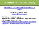 cis 512 mentor successful learning 9