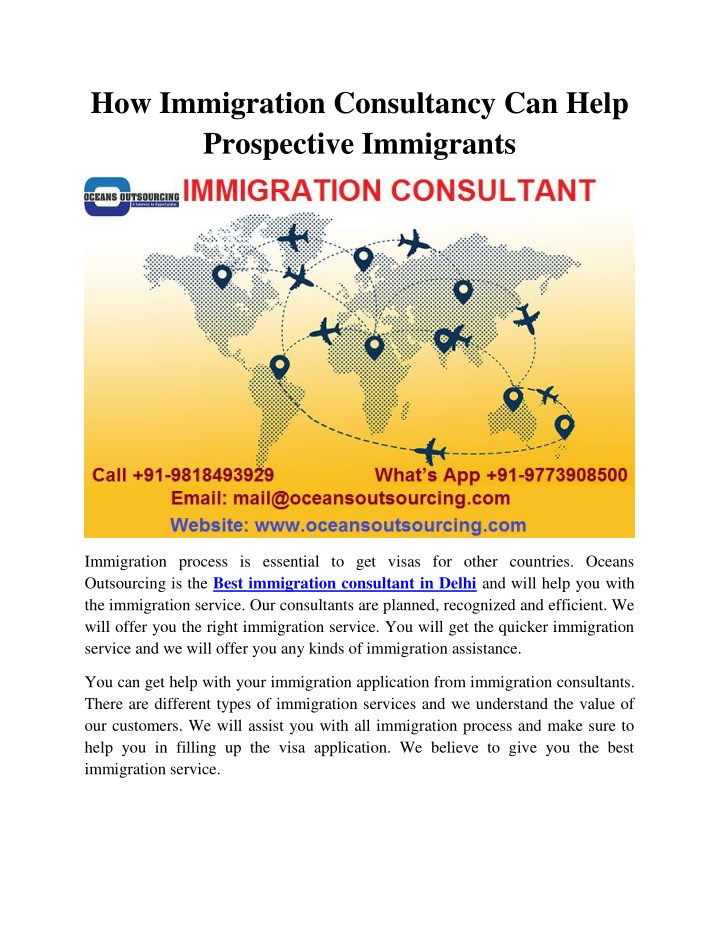 how immigration consultancy can help prospective n.