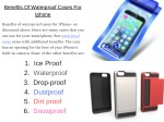 benefits of waterproof cases for iphone