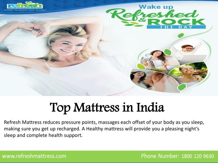 top mattress in india n.
