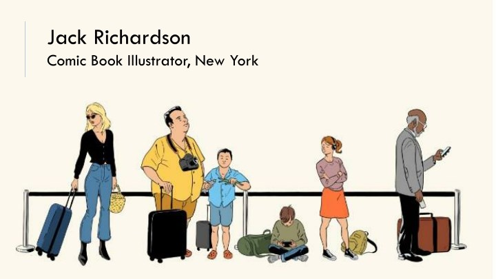 jack richardson comic book illustrator new york n.