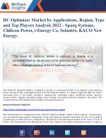 dc optimizer market by applications region type