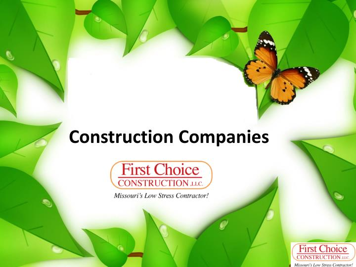 construction companies n.
