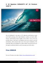 4 lg signature oled65g7v 65 lg premium oled tv