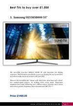best tvs to buy over 1 000