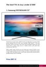 the best tvs to buy under 1000