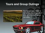 tours and group outings