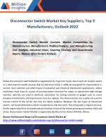 disconnector switch market key suppliers