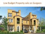 low budget property sale on gurgaon