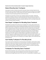 why natural gum disease mouthwash better compared