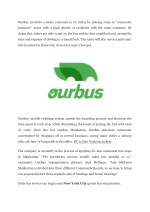 ourbus provides a faster commute to its riders