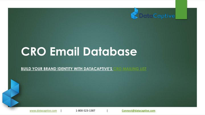 cro email database n.