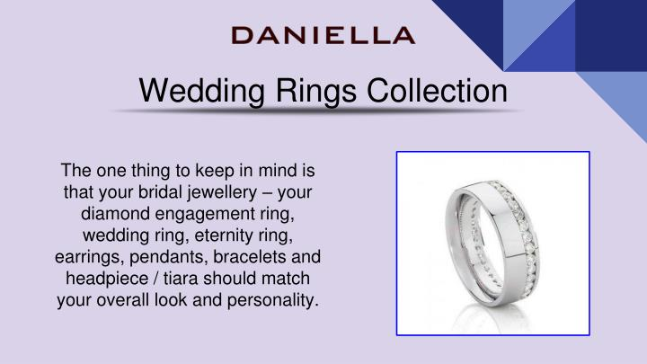 wedding rings collection n.