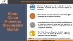 market dynamics molecular diagnostics market