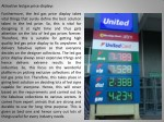 attractive led gas price displays