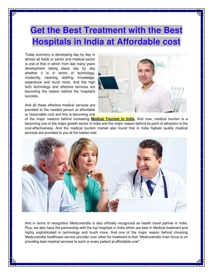 get the best treatment with the best hospitals n.