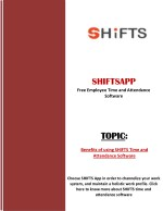 shiftsapp free employee time and attendance