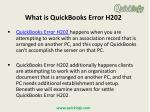 what is quickbooks error h202
