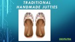 traditional handmade jutties